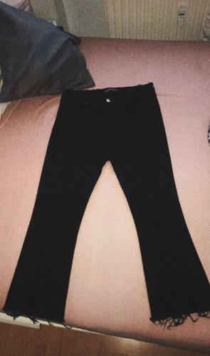 Denim Flares black