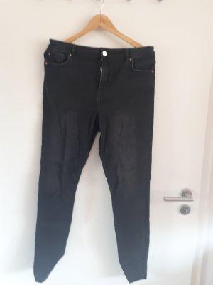 Denim Co. Jeans taille haute noir