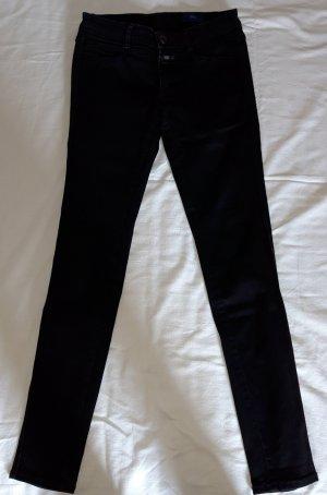 Closed Jeans carotte noir coton