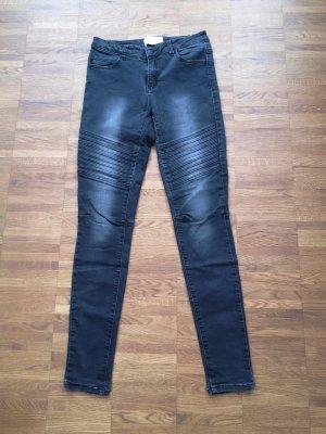 Pieces Pantalone a sigaretta nero