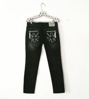 schwarze jeans • denim • vintage • lolita • hippielook