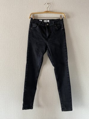 Bershka Jeans a sigaretta nero