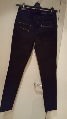 Edc Esprit Jeans a gamba dritta nero Cotone
