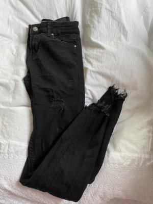 Schwarze jeans gr. 34
