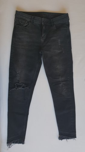Zara Basic Stretch Jeans black