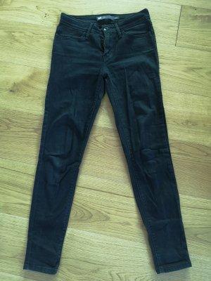 Schwarze Jeans Leggins von Levi's 26