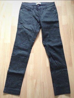Blue Motion Jeans elasticizzati nero-argento