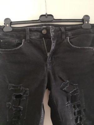 Zara Stretch Jeans black-dark grey