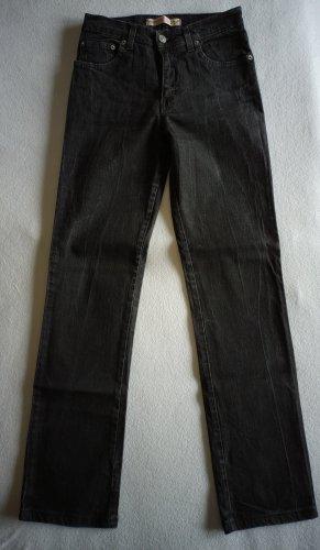 Vitamina Straight Leg Jeans black cotton
