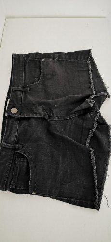 schwarze Jeans-Shorts - Forever 21