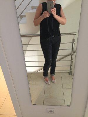 Promod Pantalon cigarette noir