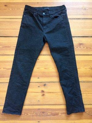 Schwarze Jeans * Uniqlo * M * skinny * hohe Taille