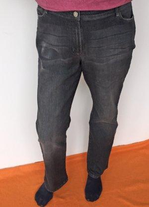 schwarze Jeans von Basler, Größe 46