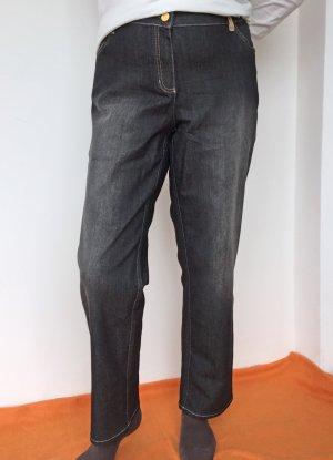 Basler Pantalon cinq poches noir coton