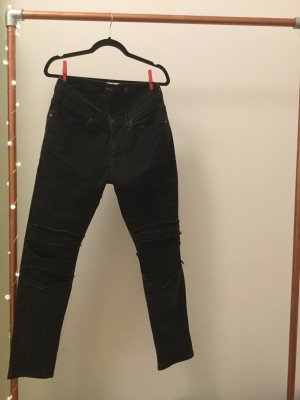 Schwarze Jeans von Bershka