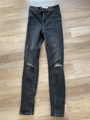 Schwarze Jeans von New Look Hallie, Gr. 34
