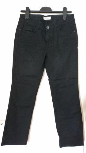 Tom Tailor Jeansy z prostymi nogawkami czarny Bawełna