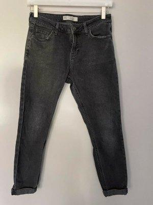 Schwarze Jeans von Topshop Lucas, W 26 / L 30
