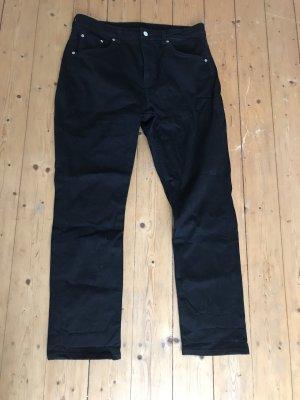 Schwarze Jeans von Weekday, Modell Seattle