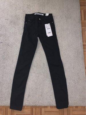 Zara Trafaluc Tube Jeans black