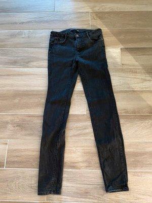Schwarze Jeans von Zara Trafaluc, Gr. 38