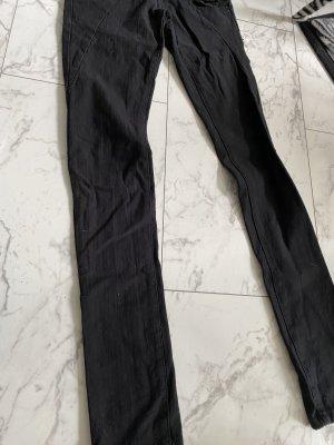 Schwarze Jeans xs