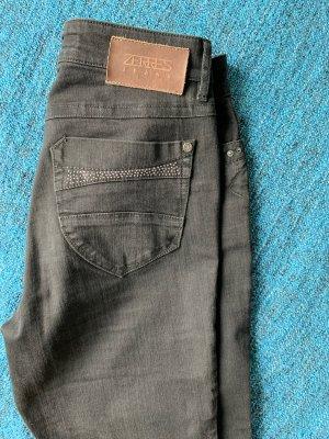 Zerres Jeansy z prostymi nogawkami czarny
