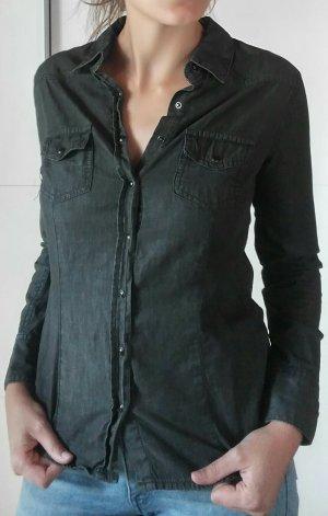 Esmara Blouse en jean noir