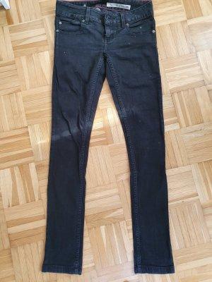 DKNY Pantalón de tubo negro