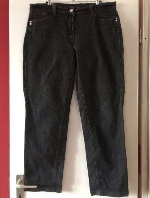 Mark Adam Jeans a gamba dritta nero Tessuto misto