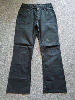 Yessica Jeans bootcut noir coton