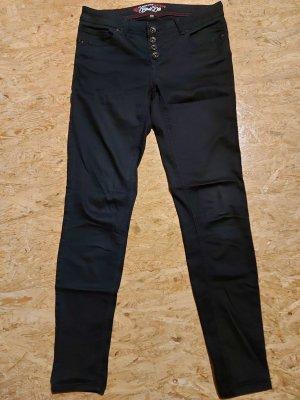 Blind Date Pantalón de cinco bolsillos negro