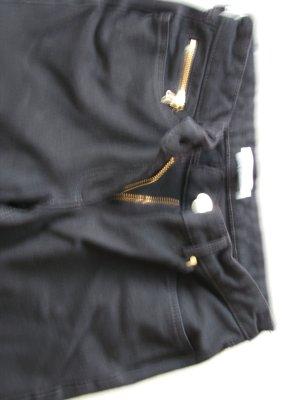 Schwarze Jeanshose von H&M, Gr. 34