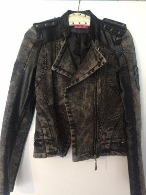 Osley Denim Jacket black-dark grey