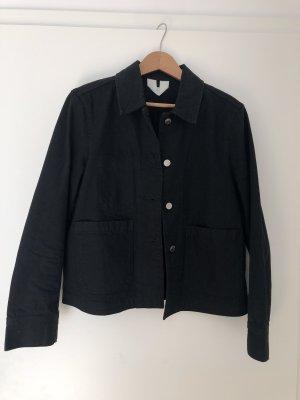 ARKET Jeansowa kurtka czarny