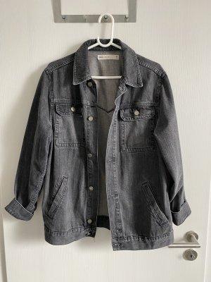 Schwarze Jeansjacke von Asos