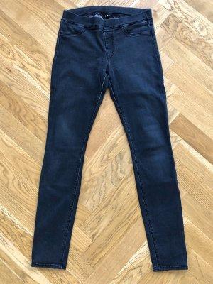 7 For All Mankind Tube jeans zwart