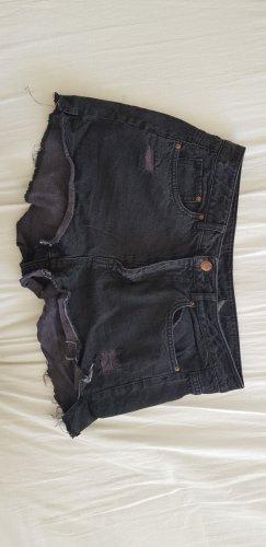 H&M Divided Short taille haute noir