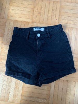 schwarze jeansshorts