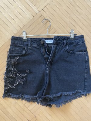 Zara Denim Shorts black