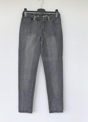 Flame Jeans skinny nero Cotone