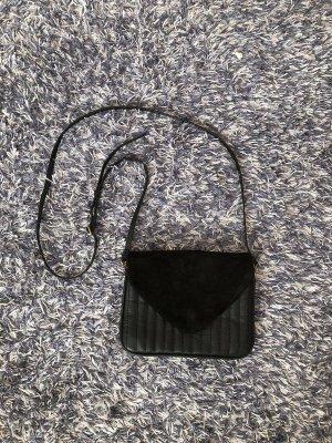 Schwarze Jigsaw Handtasche/Umhängetasche