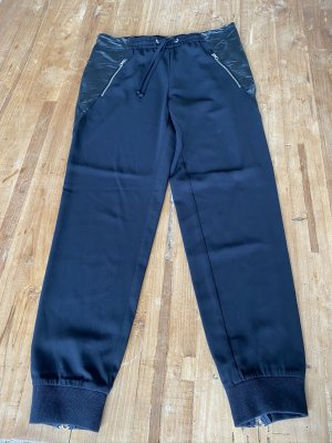 Replay Jersey Pants black polyester