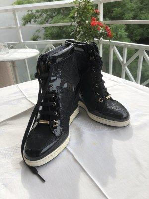 Schwarze Keilabsatz Sneaker Jimmy Choo