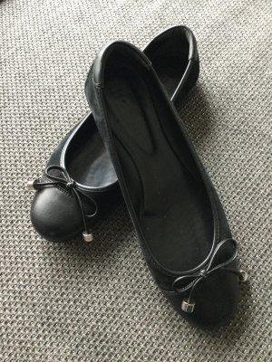 Schwarze klassische Ballerinas HOGAN