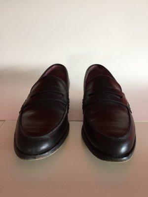 Schwarze klassische Loafer von Barker