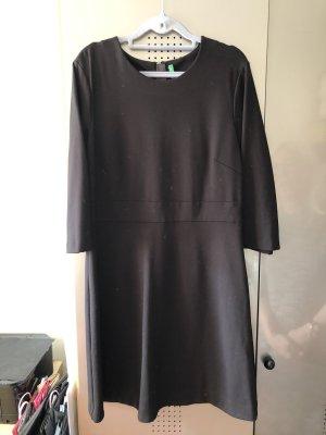 Benetton Sukienka dresowa czarny