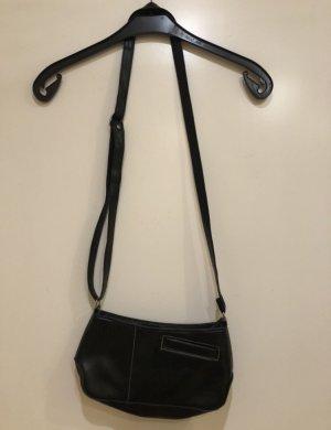 schwarze kleine Handtasche Umhängetasche