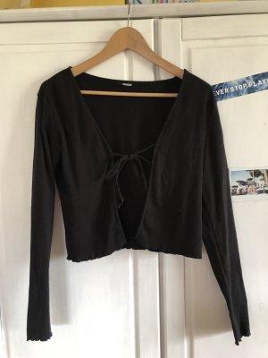 schwarze kleine Jacke