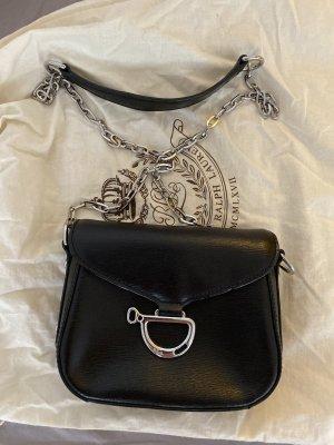 Schwarze kleine Tasche von Ralph Lauren